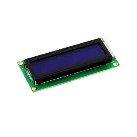 LCD کاراکتری 2*16 بک لایت ابی معمولی