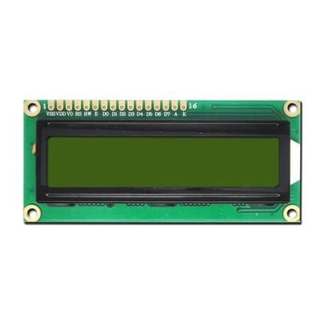 LCD کاراکتری 2*16 بک لایت سبز-TS1620A+اصلی