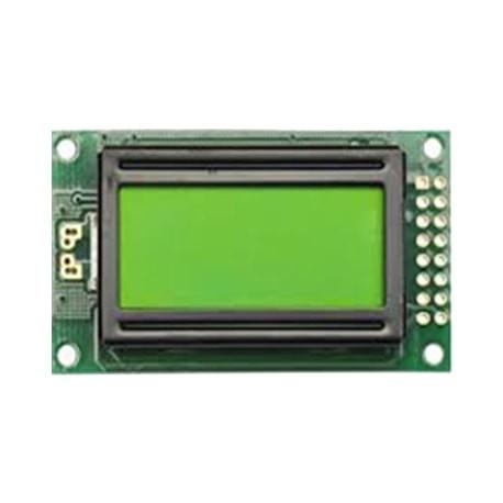 LCD کاراکتری 2*8 بک لایت سبز