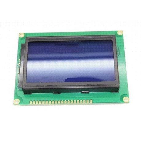 LCD گرافیکی 64*128 بک لایت آبی (معمولی)