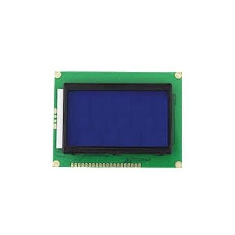 LCD گرافیکی 64*128 بک لایت ابی TM12864J (کوچک)اصل
