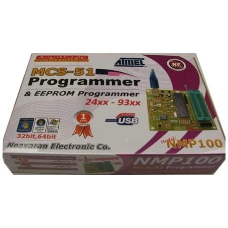 پروگرامر USB میکروکنترلر های 8051-MCS مدل NMP100