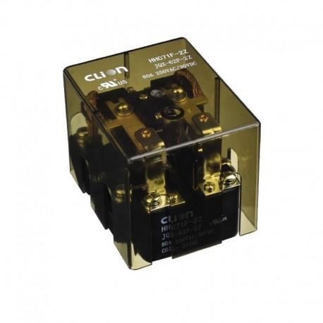 رله قدرت HHC71F/JQX-62F- 2C- 60A-220VAC